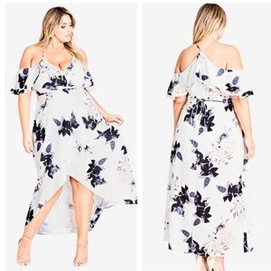 City Chic maxi floral dress
